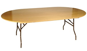 Table ovale 14 - 16 pers